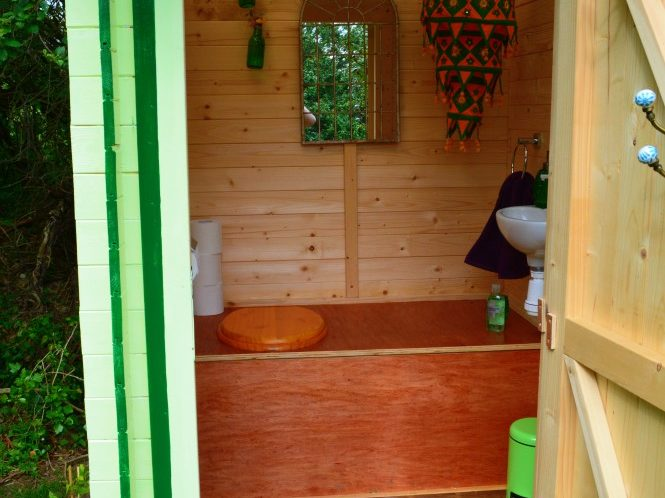 Toilet, compost toilet, eco, green, natural, compost, funky, yurt, holiday, retreat, private, wales, ceredigion, llangrannog, new quay