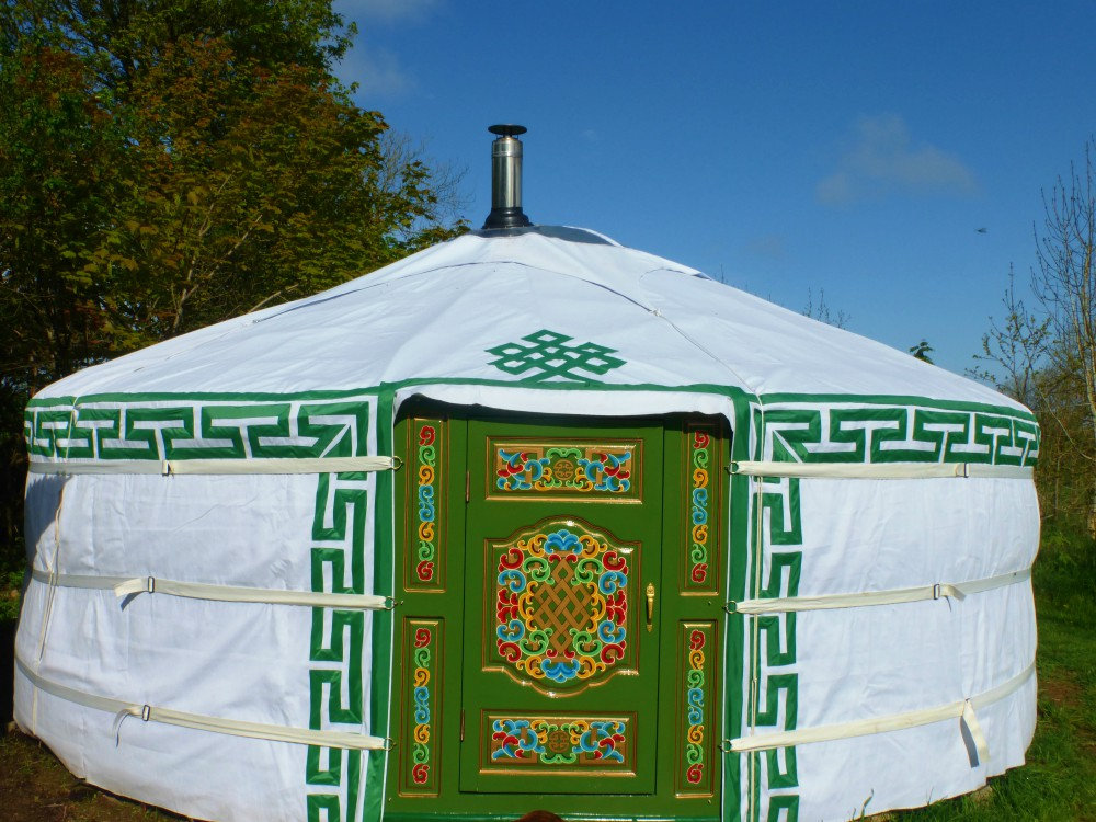 glamping, yurt, fmaily holiday, Llangrannog, farm, luxury, camp fire, Wales, Ceredigion