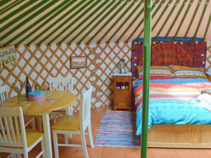 Yurt, glamping, holiday, glamping holiday, yurt holiday, unique retreat, coast, farm, countryside